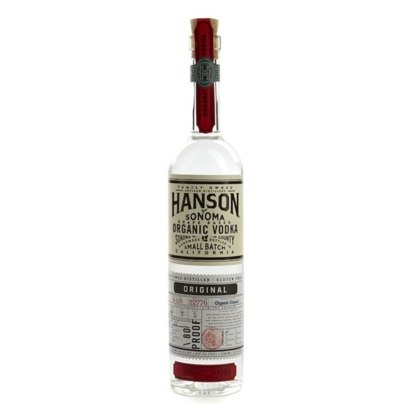 Hanson organic vodka - vodka for sale online
