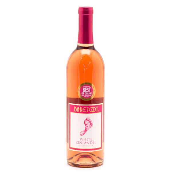 barefoot white zinfandel - white wine for sale online