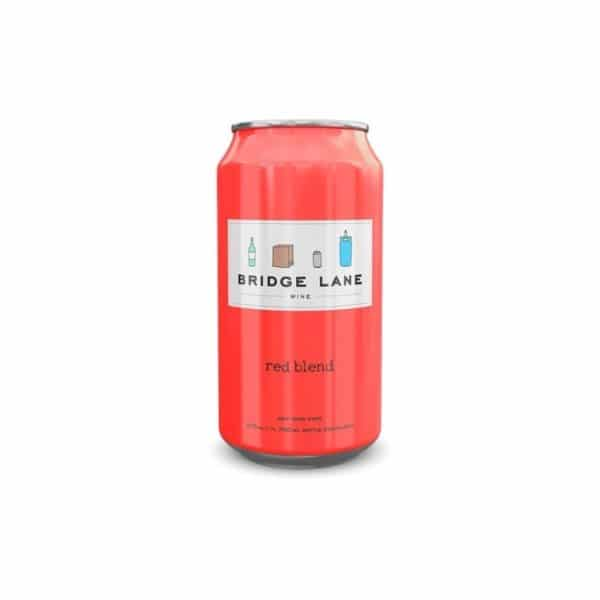 bridge lane red blend can 375ml - red wine for sale online