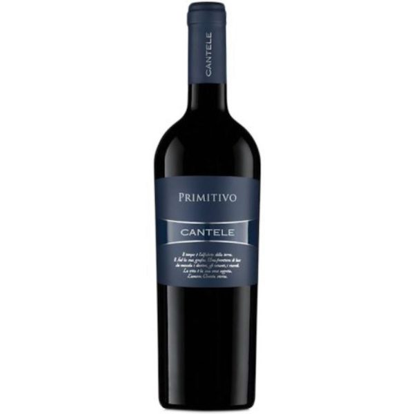 CANTELE PRIMITIVO - red wine for sale online