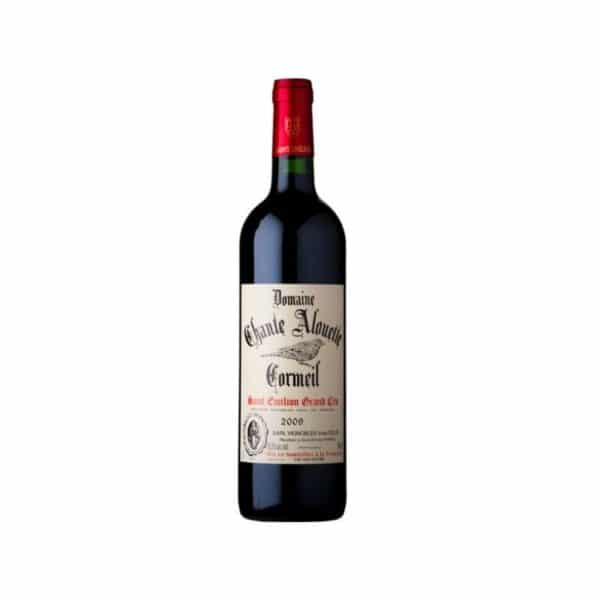 CHANTE ALOUETTE CORMEIL ST EMILION - red wine for sale online