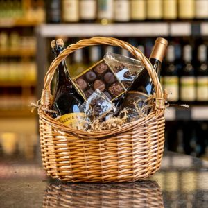 Chocolate Wine Basket For Sale Online