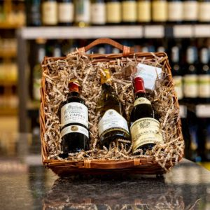 French Wine Basket For Sale Online