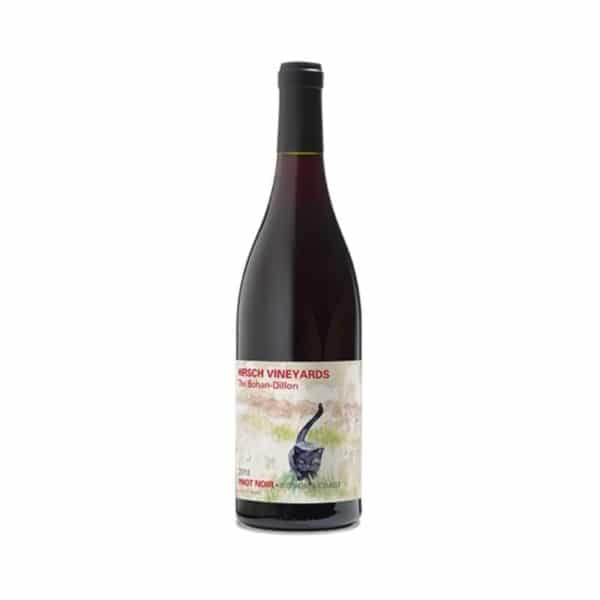 hirsch vineyards black cat pinot noir - red wine for sale online