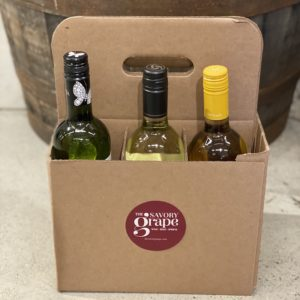 kraft six bottle wine carrier