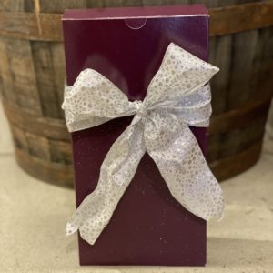 one to two bottle gift wrap box