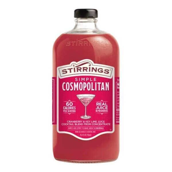 stirrings cosmopolitan mix - cocktail mix for sale online