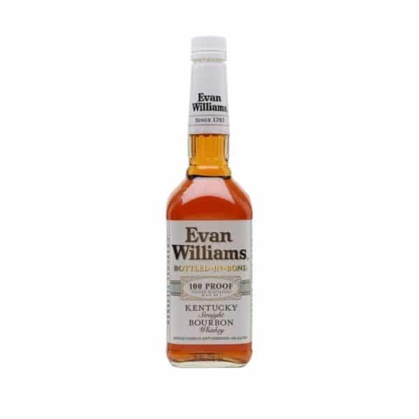 EVAN WILLIAMS WHITE LABEL BOTTLED IN BOND - BOURBON FOR SALE ONLINE