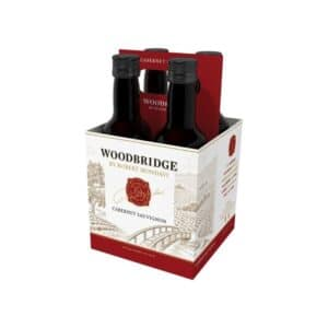 woodbridge cabernet sauvignon 4 pack - red wine for sale online