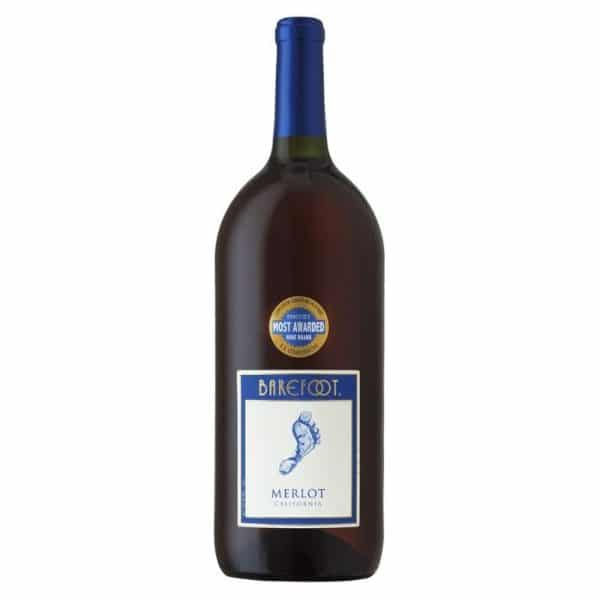 barefoot-merlot-1.5l - red wine for sale online