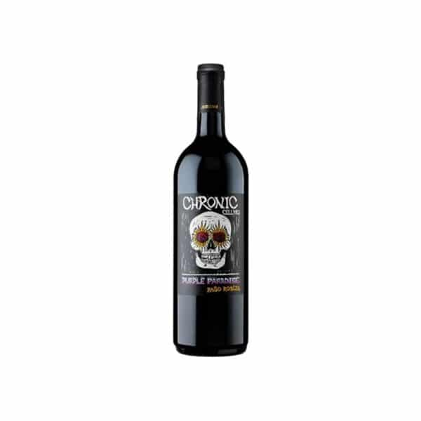 chronic cellars purple paradise - red wine for sale online