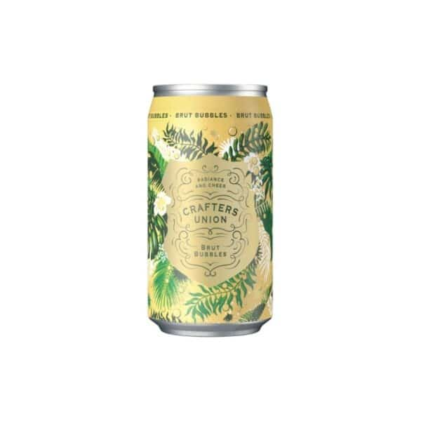crafters union brut bubbles can - sparkling wine for sale online