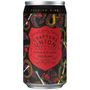 crafters union red blend can wine - red wine for sale online