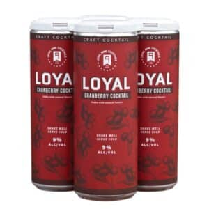 loyal sons of liberty cranberry cocktail - canned cocktail for sale online