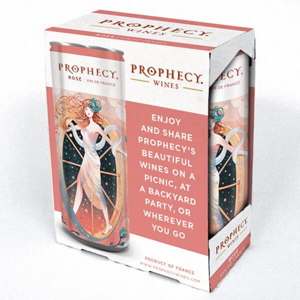 prophecy rose 2 pack cans - rose wine for sale online