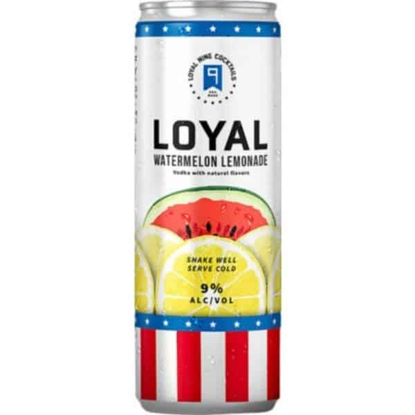 sol loyal watermelon lemonade sparkling can - canned cocktails