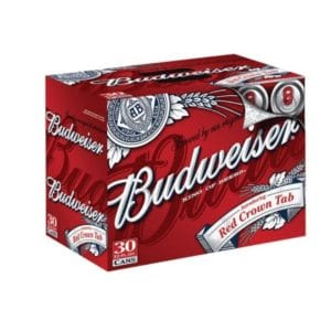 Budweiser 30 Pack For Sale Online