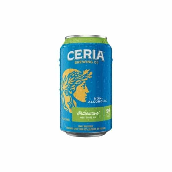 CERIA INDIEWAVE NON ALCOHOLIC 6PK BEER - NON ALCOHOLIC BEER FOR SALE ONLINE