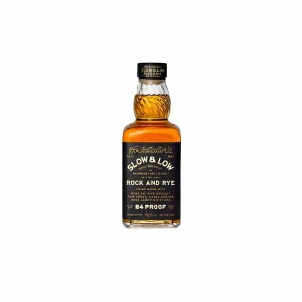 hochstadters slow and low rock and rye whiskey - cocktails for sale online