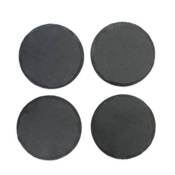 Slate Engravable Circle Coasters For Sale Online