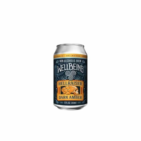 wellbeing hellraiser dark amber ale non alcoholic - non-alcoholic beer for sale online