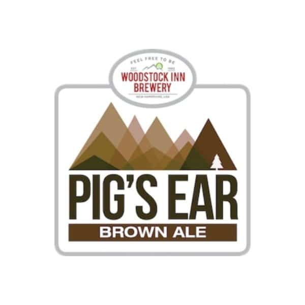 woodstock inn pigs ear brown ale - beer for sale online