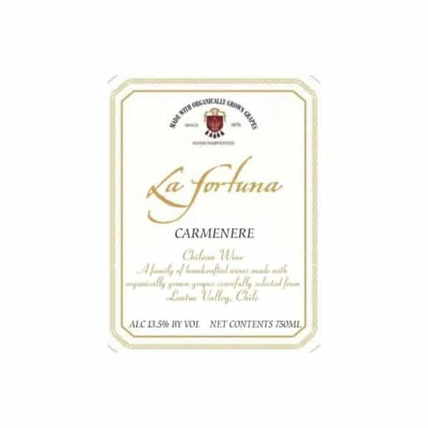 la fortuna carmenere - red wine for sale online