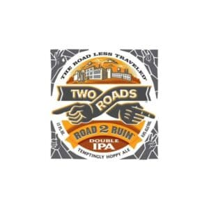 two roads road 2 ruin double ipa beer - ipa for sale online