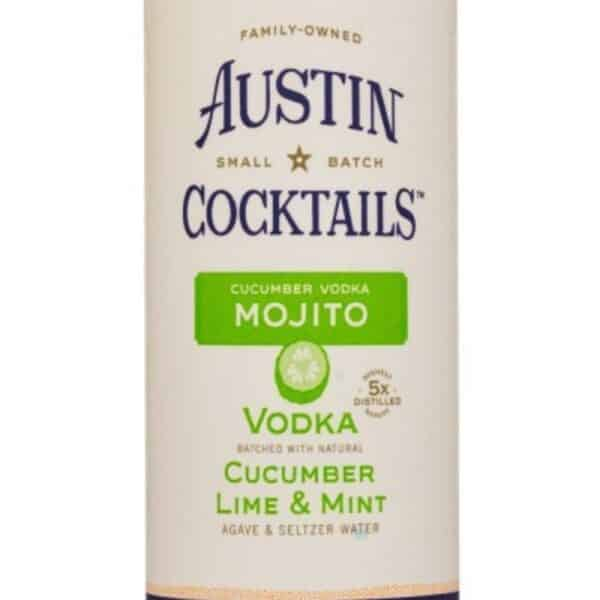 Austin Mojito Cocktail cans