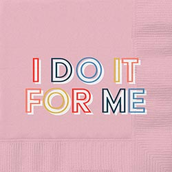 i do it for me cocktail napkins - beverage napkins for sale online