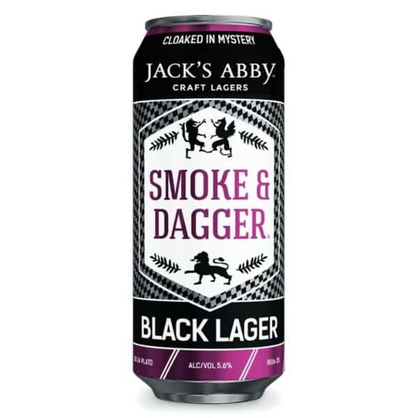 jacks abby smoke and dagger black lager - beer for sale online