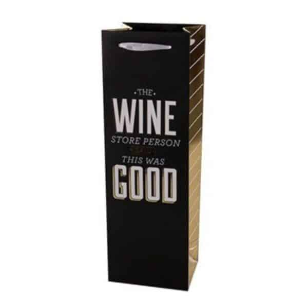 the person at the wine store said it was good gift bag - gift bags for sale online