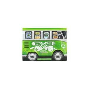 two roads hoppy beer bus 12 pack variety cans - beer for sale online