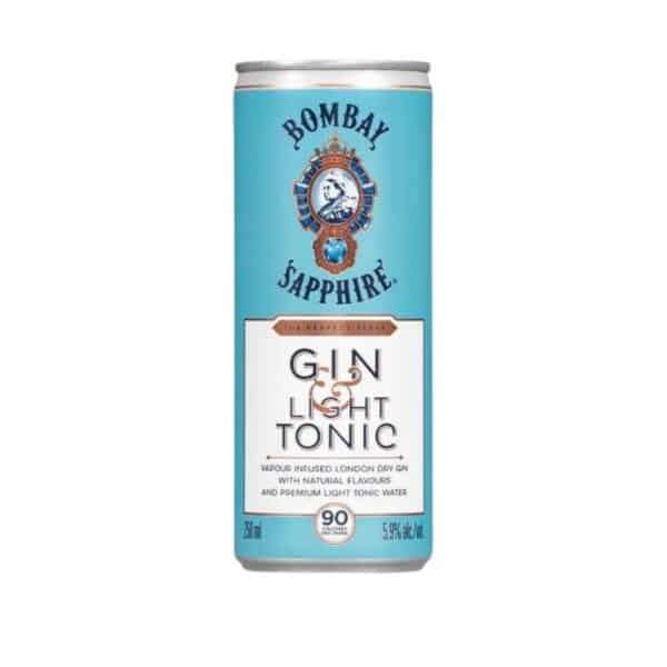 Bombay Gin & Light Tonic Ready To Drink Cocktail For Sale Online