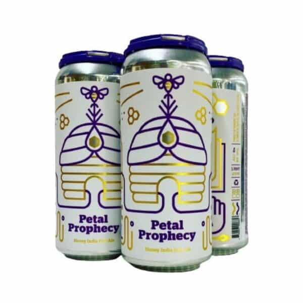 Petal Prophecy honey IPA
