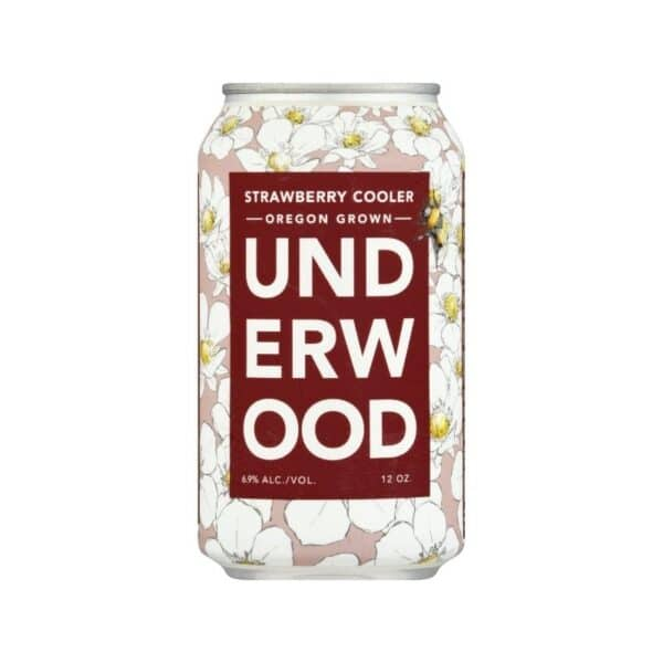 Underwood Strawberry can