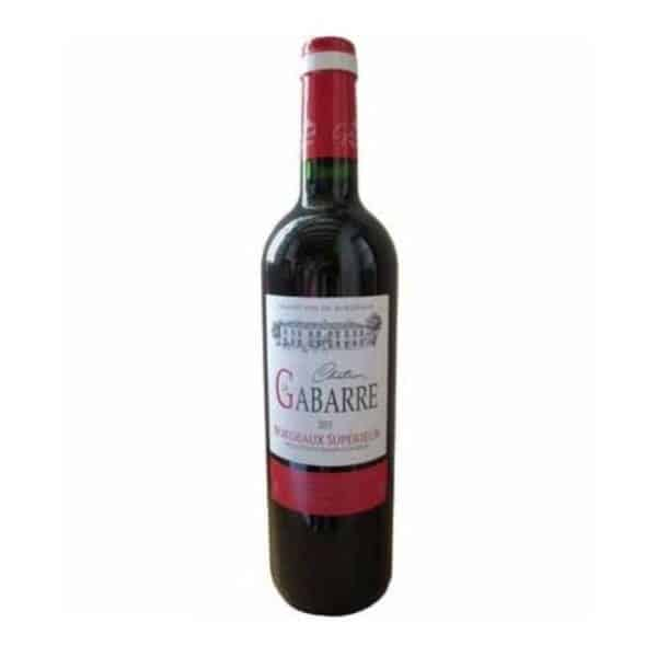 CHATEAU LES GABARES ROUGE - red wine for sale online