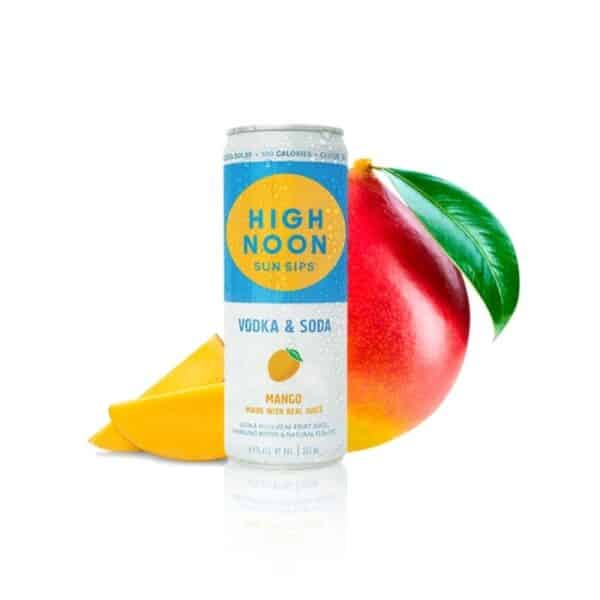 high noon mango 4 pack - canned cocktails for sale online