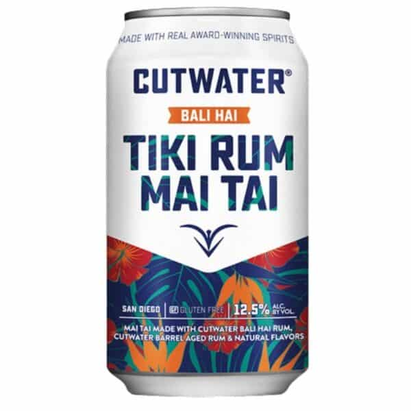 cutwater tiki rum mai tai - canned cocktails for sale online