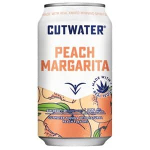 cutwater peach margarita - canned cocktails for sale online