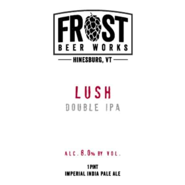 frost beer works lush dipa - beer for sale online