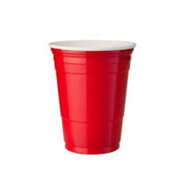 red beer cup plastic 16pz - cups for sale online