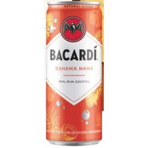 bacardi bahama mama ready to drink cocktail - canned cocktails for sale online