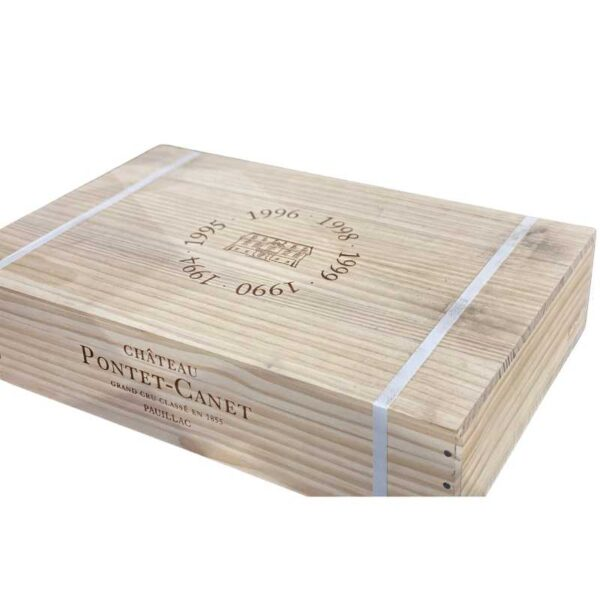 chateau pontet canet vertical - rare wine for sale online