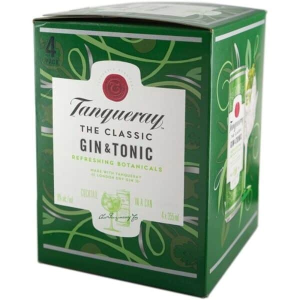 tanqueray classic gin and tonic for ready to drink cocktails