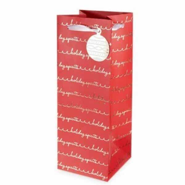 holiday spirits 1.5l gift bag - gift bags for sale online