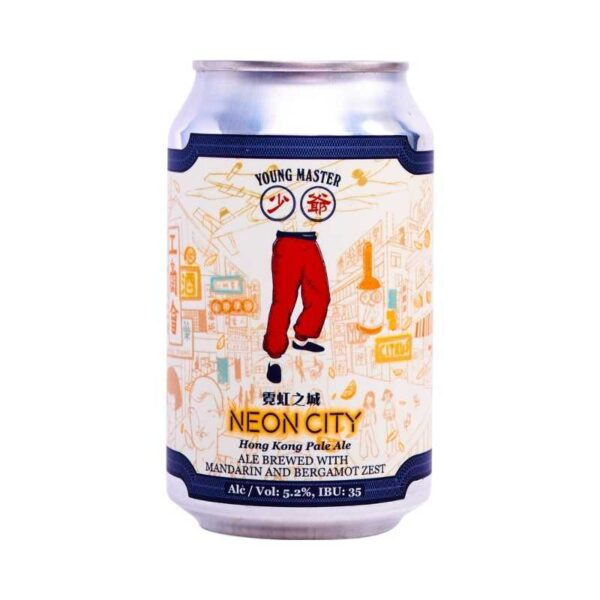 young master neon city hong kong pale ale beer - beer for sale online